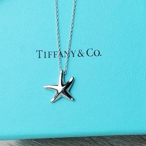 Tiffany Starfish Pendant Necklace